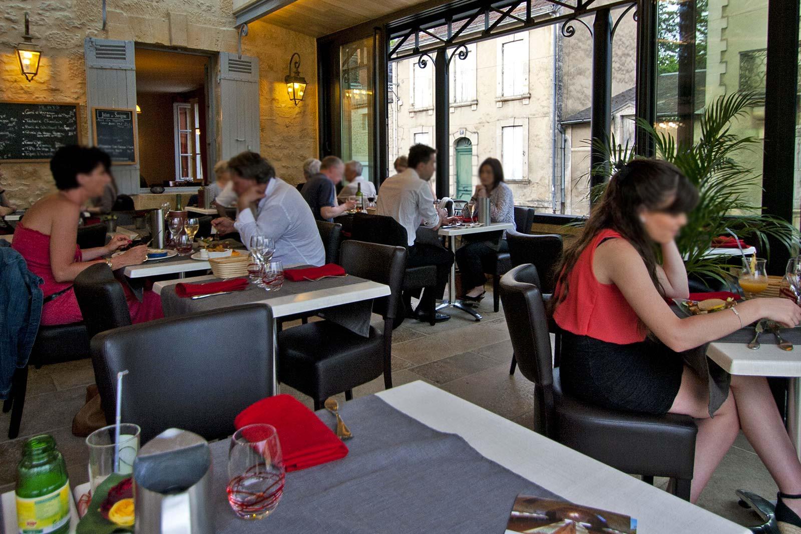 salle restaurant Sarlat