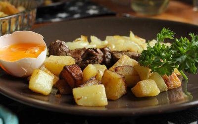 Recette de pommes de terre sautées à la graisse de canard